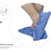 Cobre sapatos CPE azul